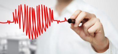 אקו לב - בציור לב - ביטוח בריאות